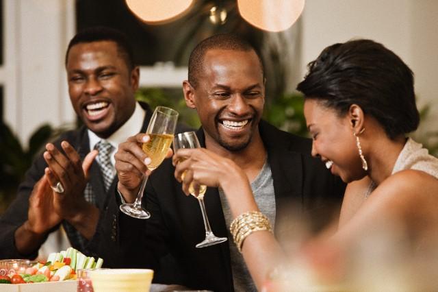 Image result for black couple having dinner